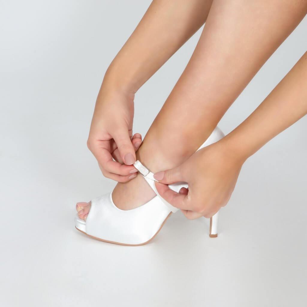 Perfect Bridal Detachable Instep Strap - Narrow 3