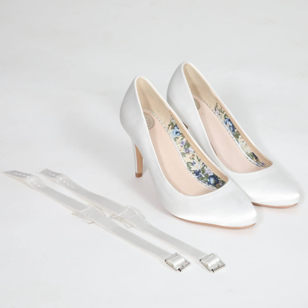 Perfect Bridal Detachable Instep Strap - Wide 1