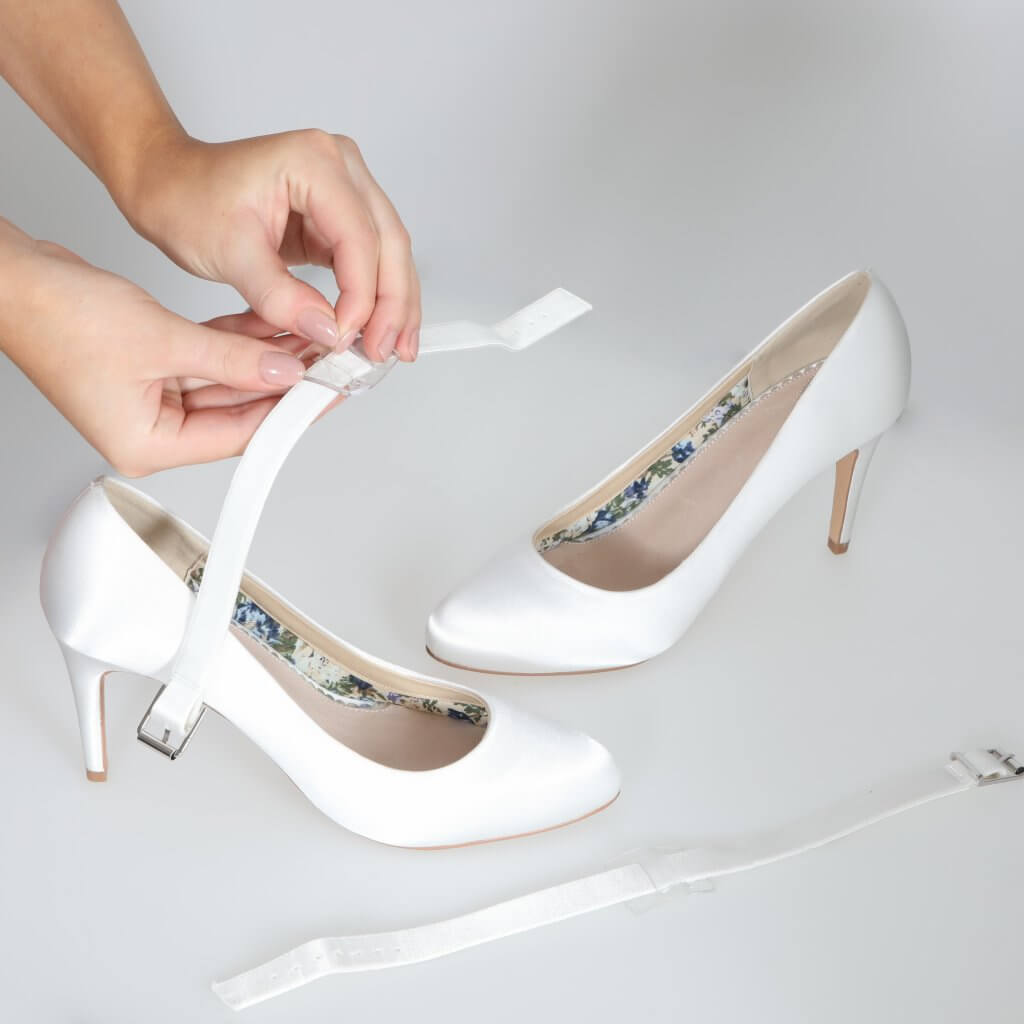 Perfect Bridal Detachable Instep Strap - Wide 2