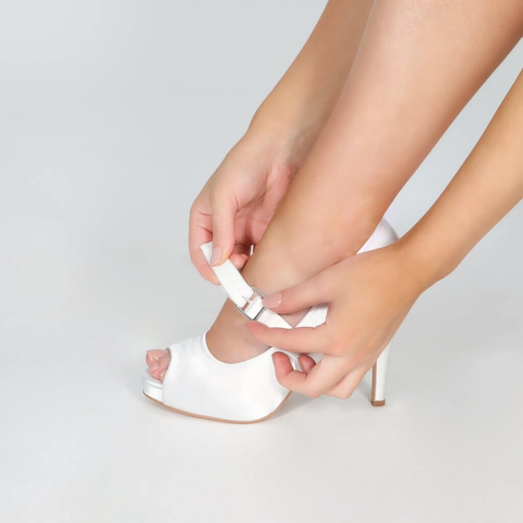 Perfect Bridal Detachable Instep Strap - Wide 4