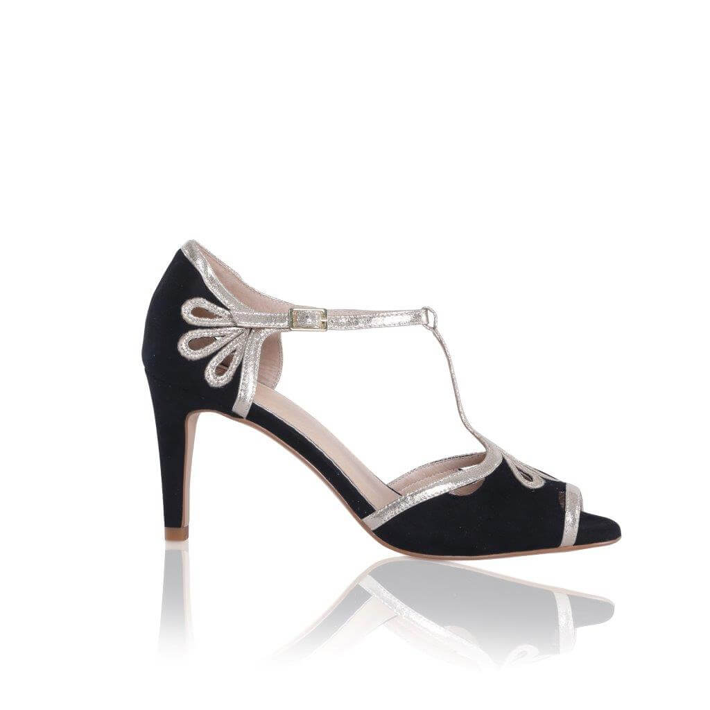 Perfect Bridal Esme Black/Gold - UK Size 4 & 7 (Euro 37 & 40) 2