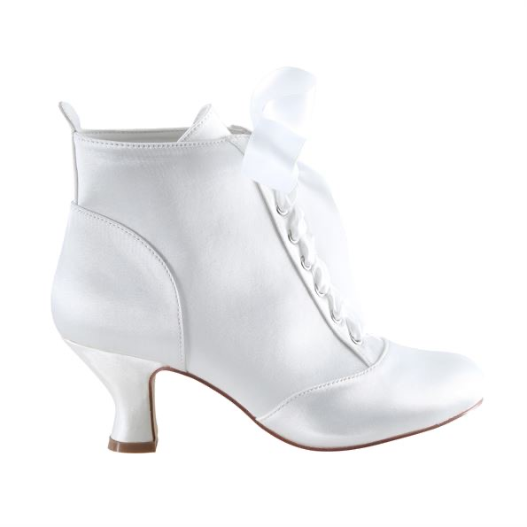 Perfect Bridal Norah Boots - Satin - size UK6 (39) 1