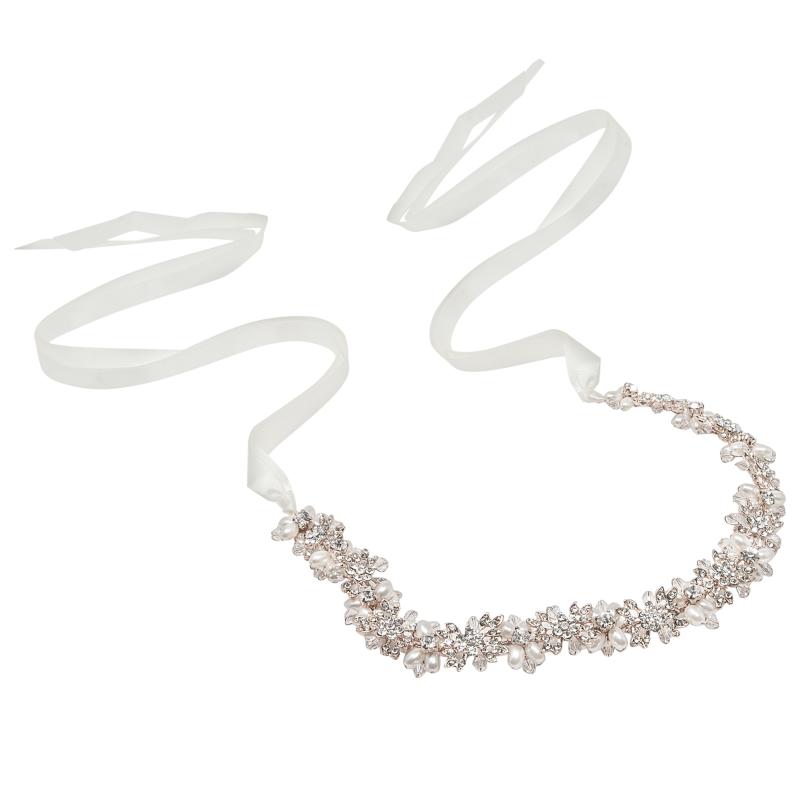 Athena Collection - Eva Chic Hair Vine - Silver 2