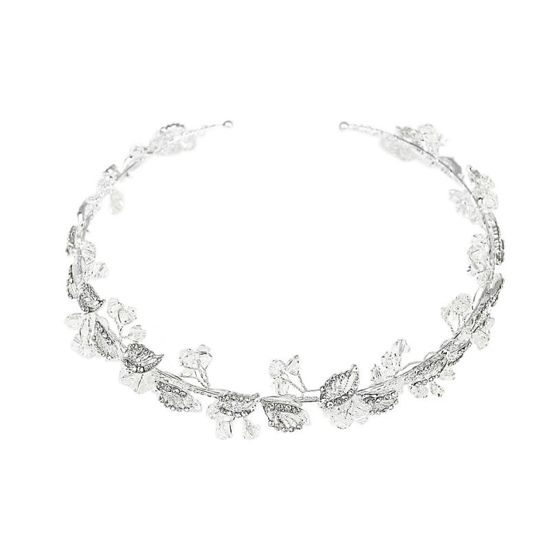 Athena Collection - Dainty Crystal Bridesmaid Vine 1