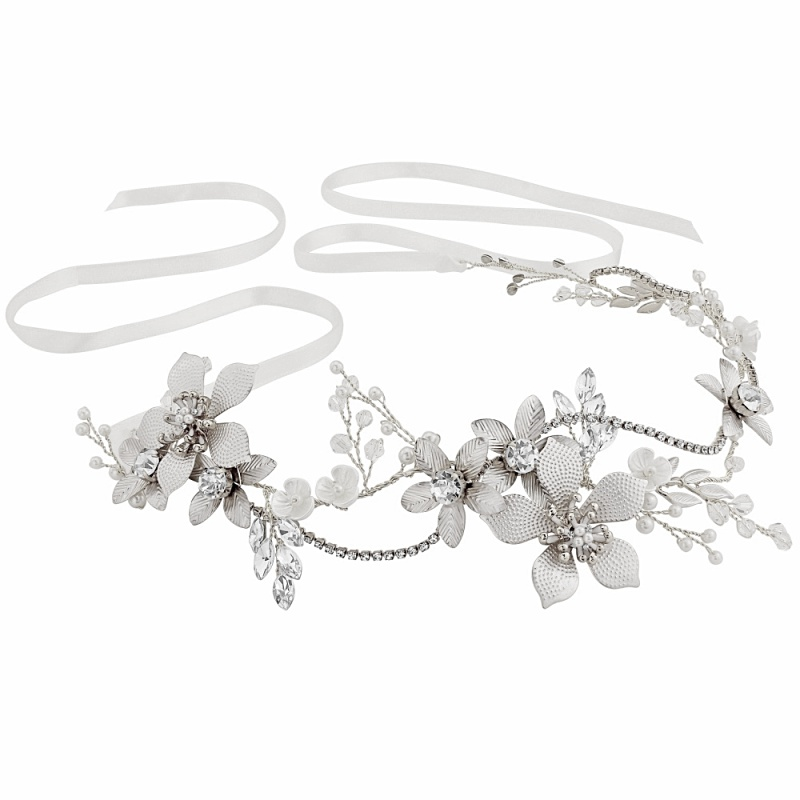 Athena Collection - Exquisite Romance Vine - Silver 1