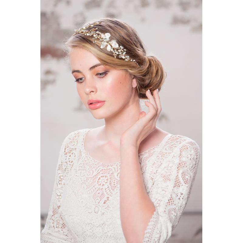 Athena Enchanting Vintage Vine - Blush Pink/Gold 3