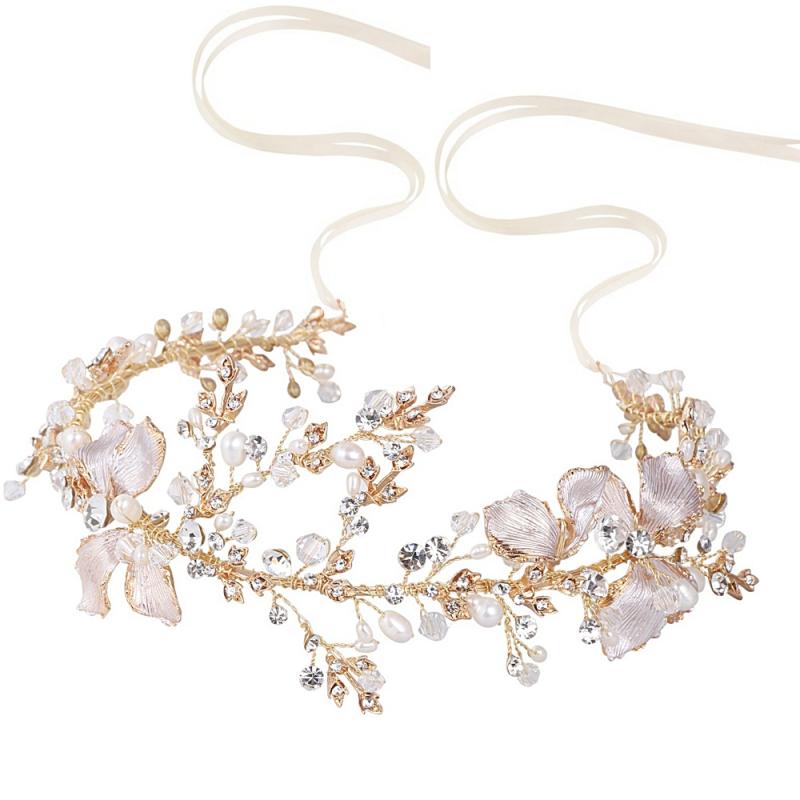 Athena Enchanting Vintage Vine - Blush Pink/Gold 2
