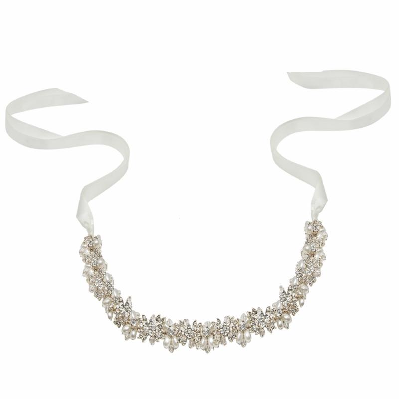 Athena Collection - Eva Chic Hair Vine - Silver 1