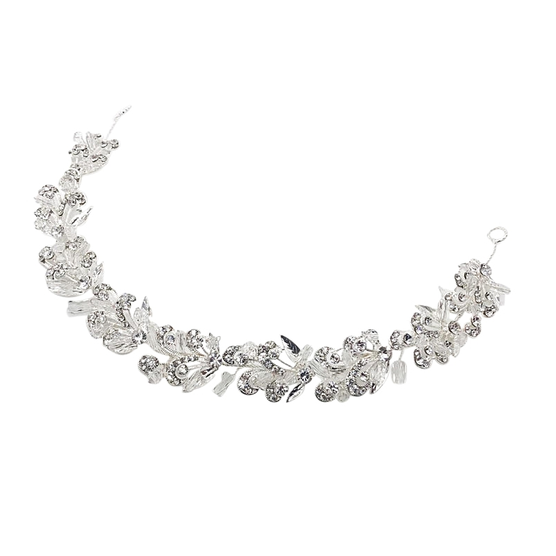 Athena Collection - Starlet Chic Hairvine - Silver 2