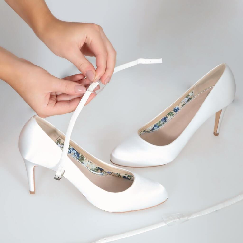 Perfect Bridal Detachable Instep Strap - Narrow 1