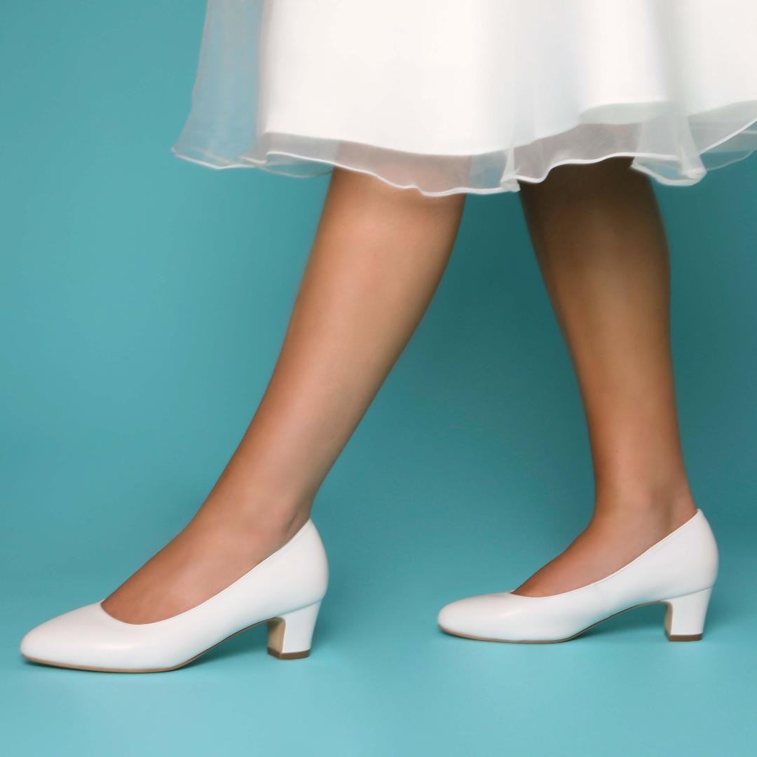 Perfect Bridal Melanie Shoes - Ivory Leather 2