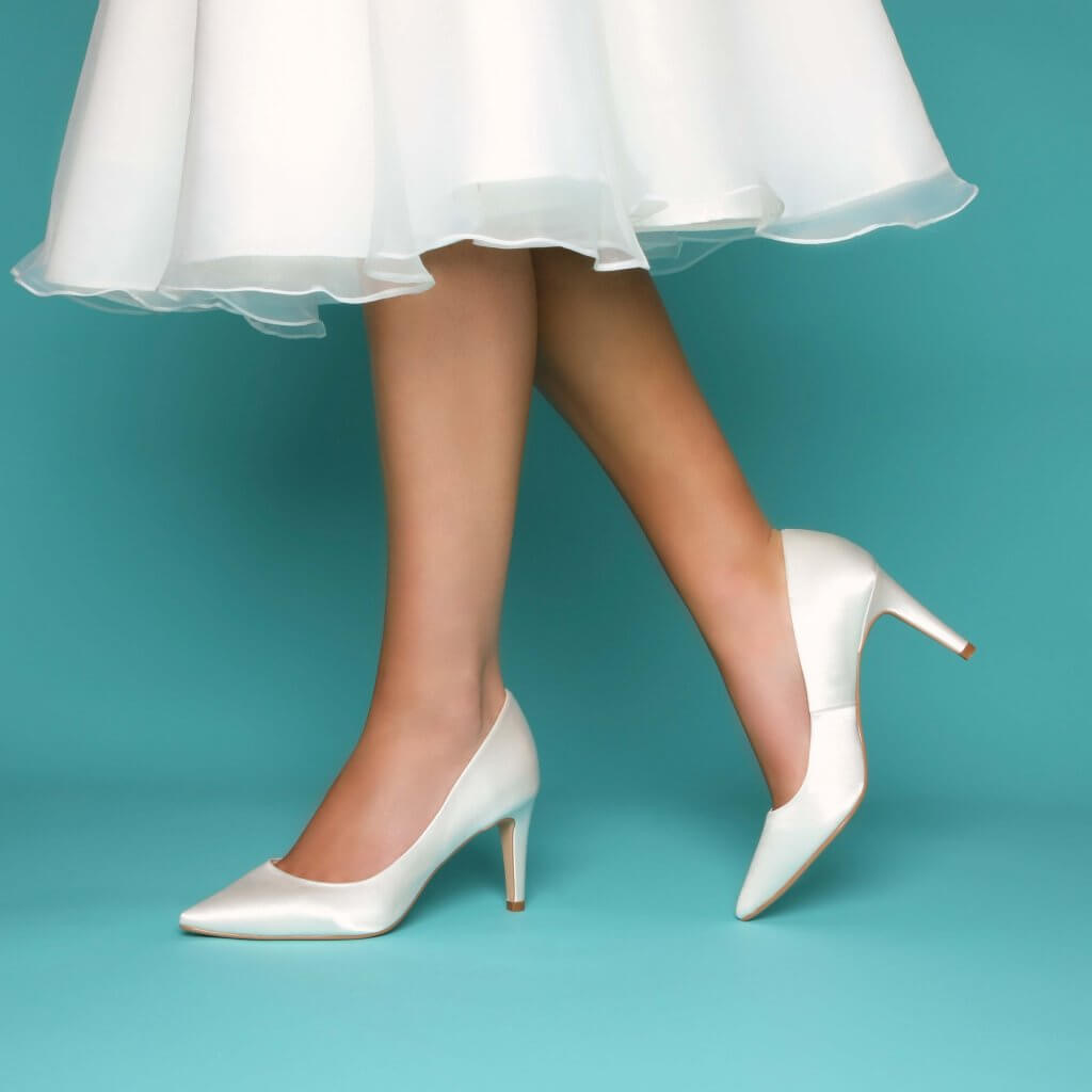 Perfect Bridal Rachel Shoes - Ivory 2