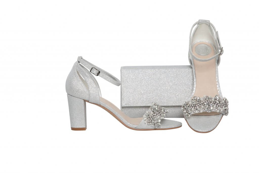 Perfect Bridal Alexa - Silver Shimmer 3