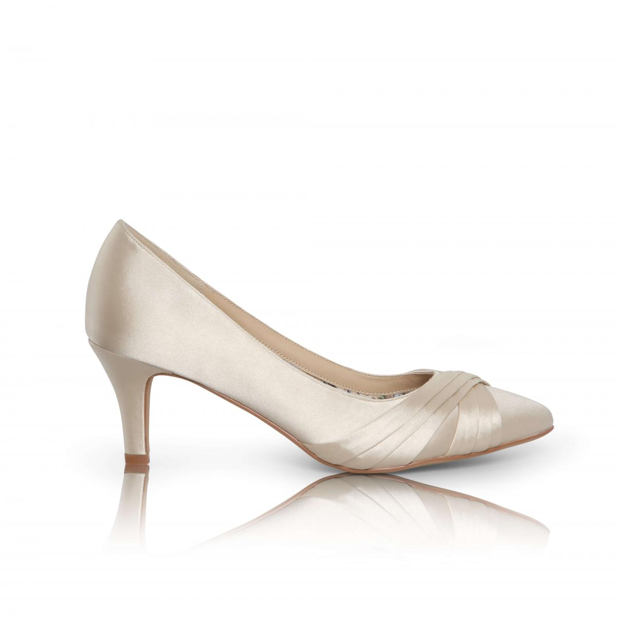 Perfect Bridal Sally Shoes - Champagne 1