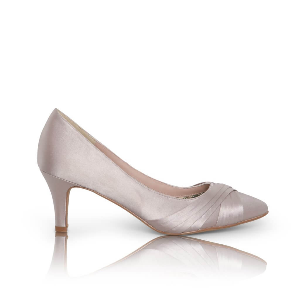Perfect Bridal Sally Shoes - Taupe 1