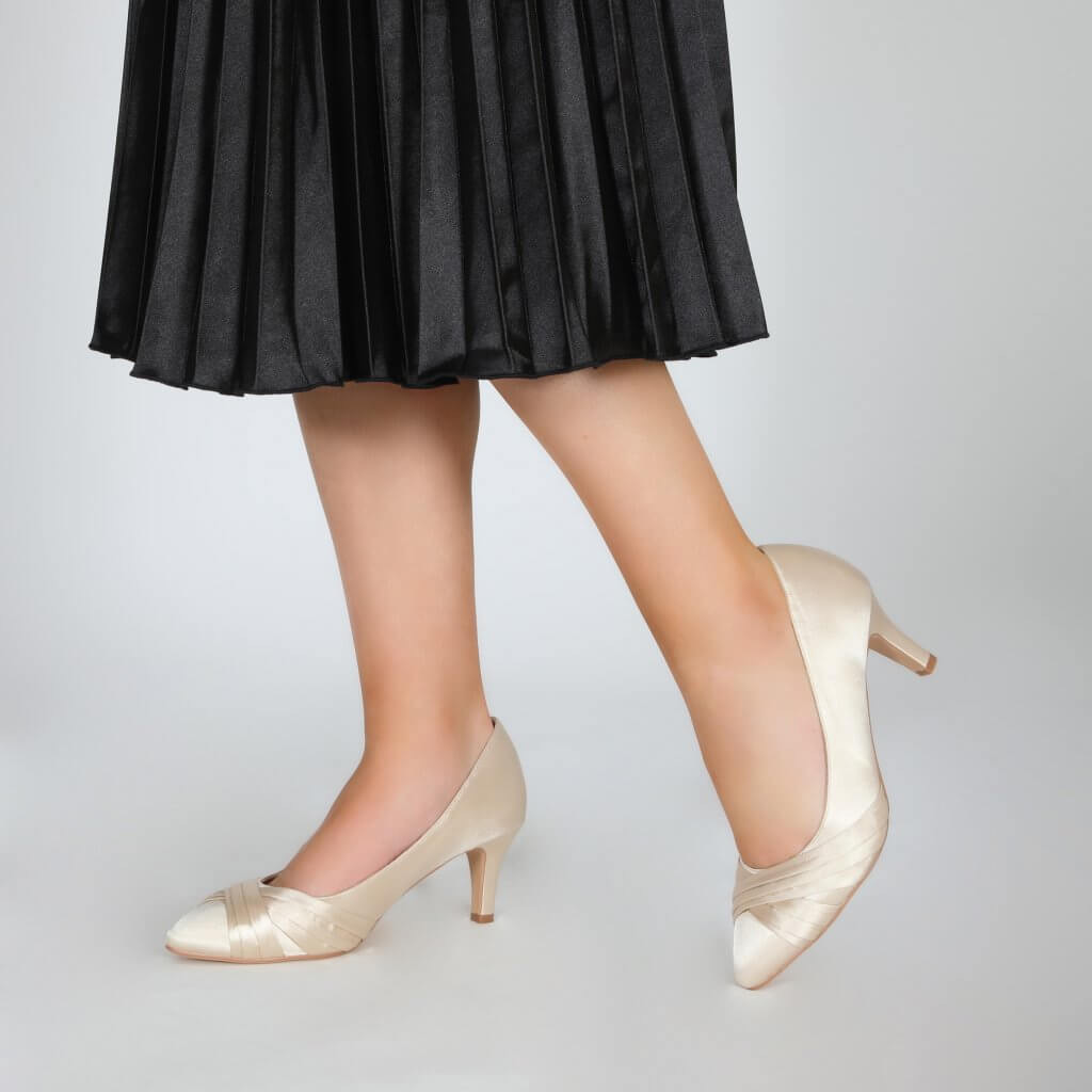 Perfect Bridal Sally Shoes - Champagne 2