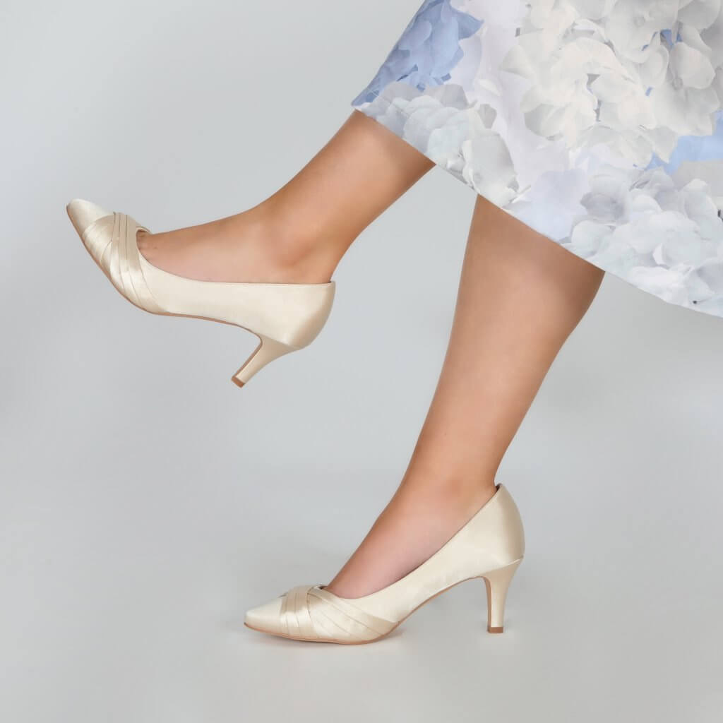 Perfect Bridal Sally Shoes - Champagne 3