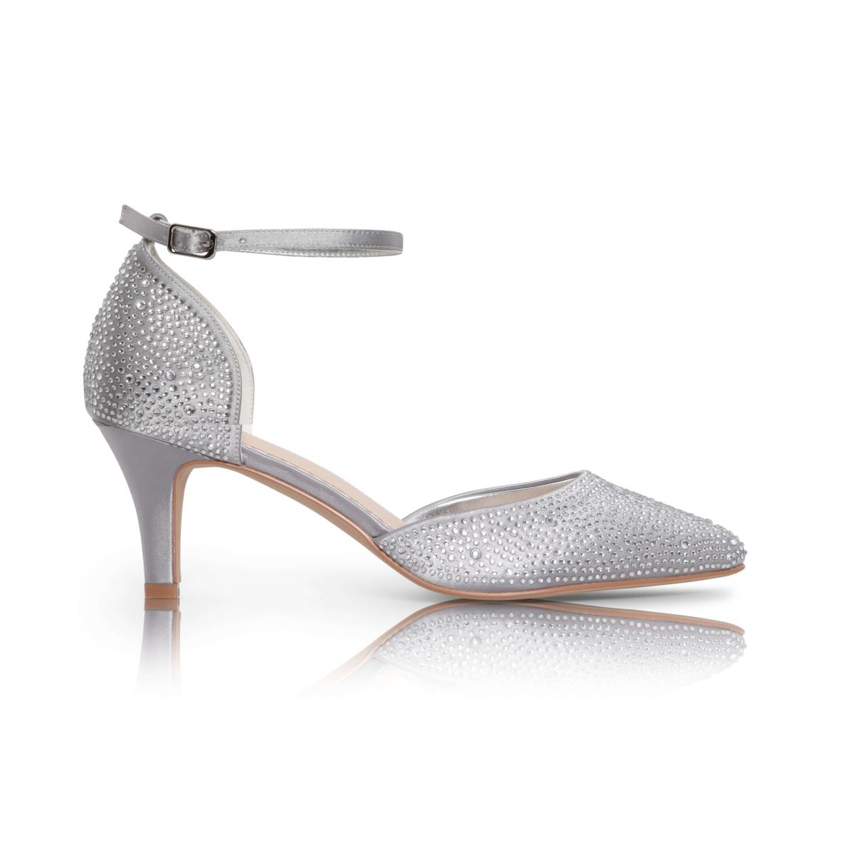 Perfect Bridal Xena Shoes - Silver 1