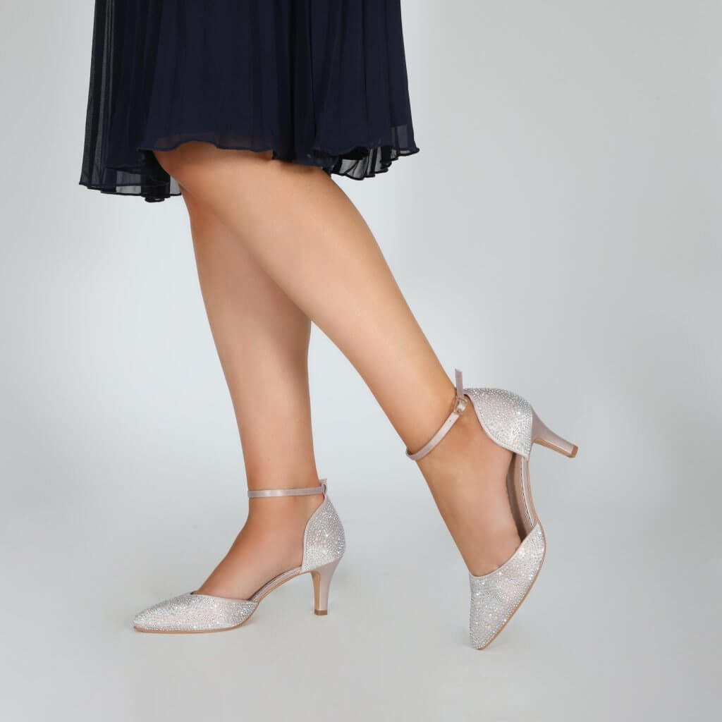 Perfect Bridal Xena Shoes - Taupe 2