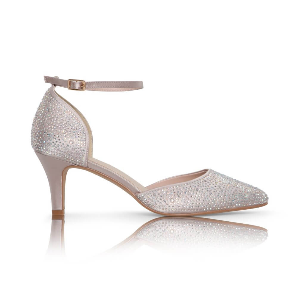 Perfect Bridal Xena Shoes - Taupe 1