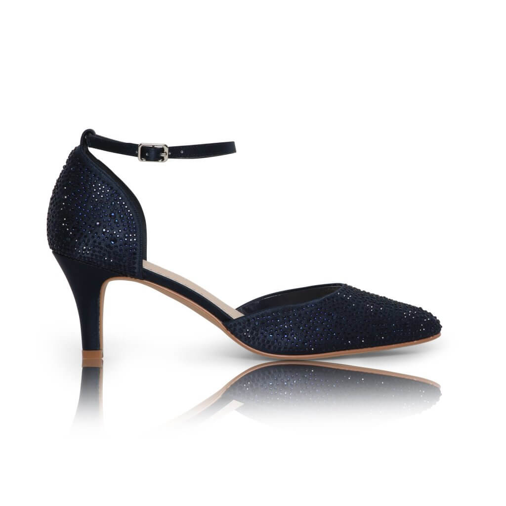 Perfect Bridal Xena Shoes - Navy 1