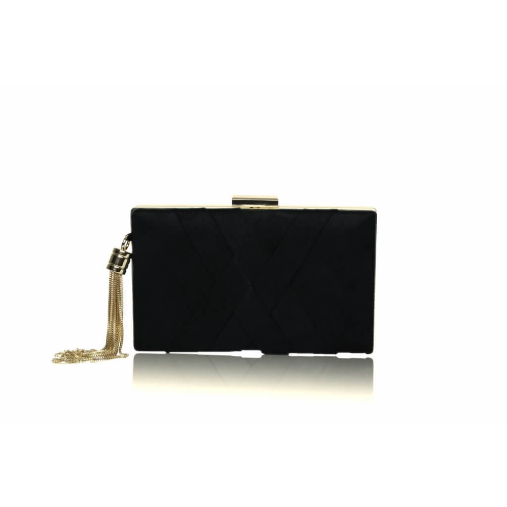 Perfect Bridal Anise Bag - Black Ultra suede 1