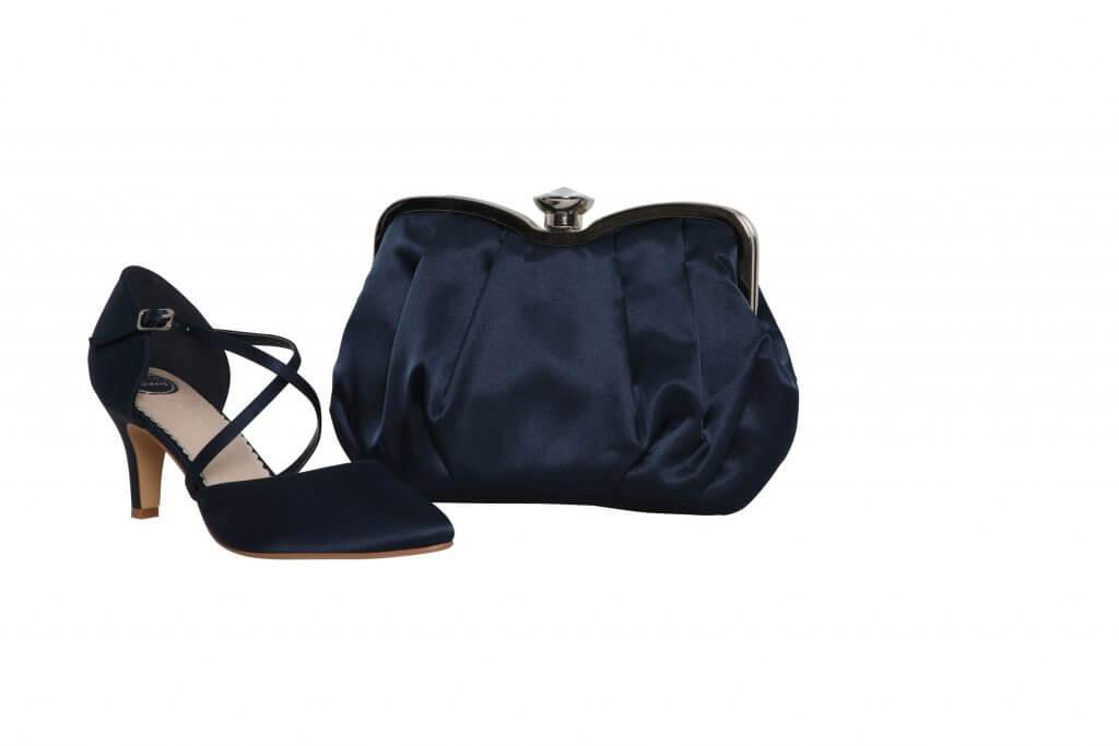 Perfect Bridal Ginger Bag - Navy 3