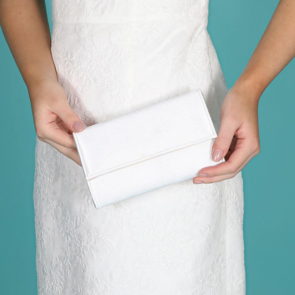 Perfect Bridal Lola Bridal Bag - Dyeable Satin 2
