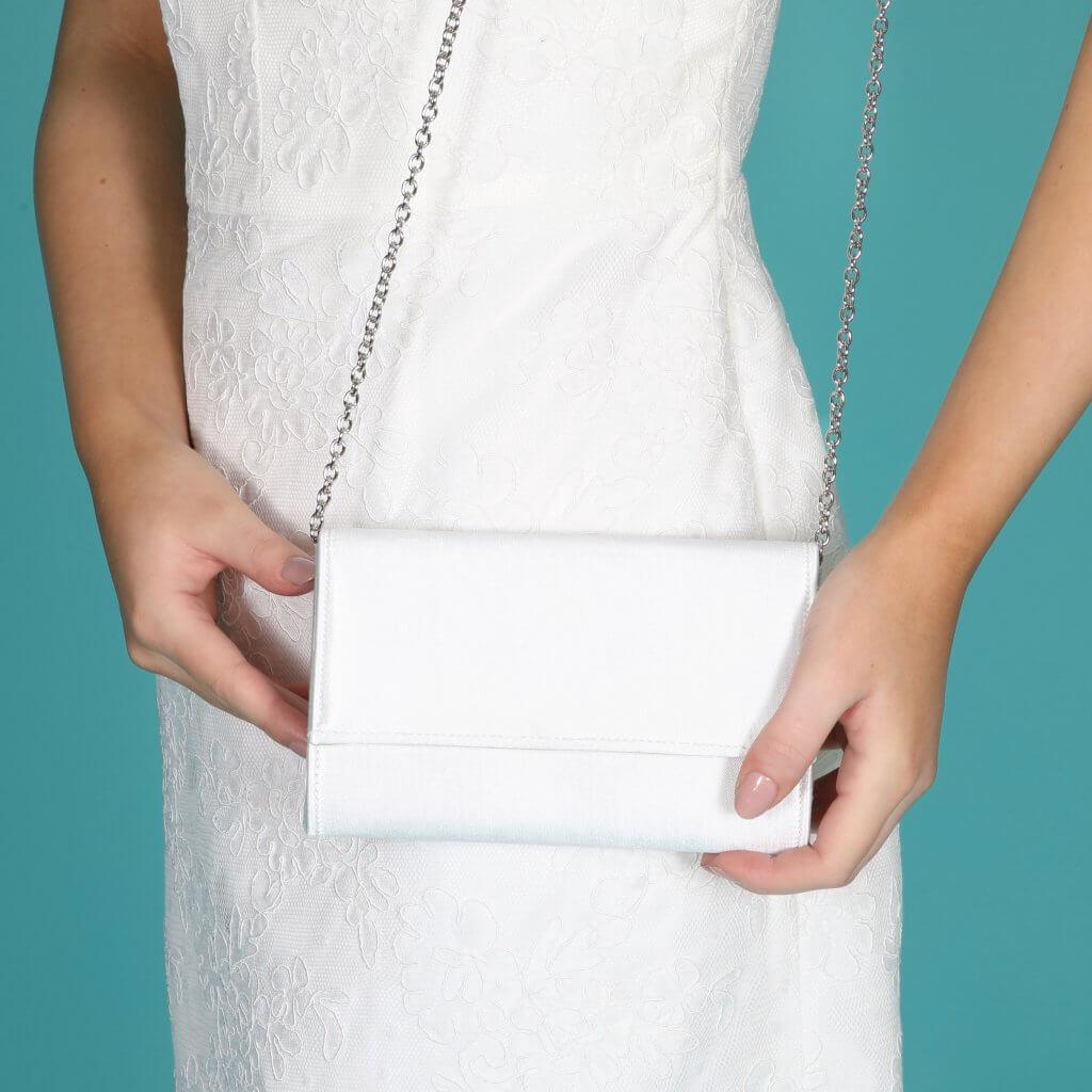 Perfect Bridal Lola Bridal Bag - Dyeable Satin 3