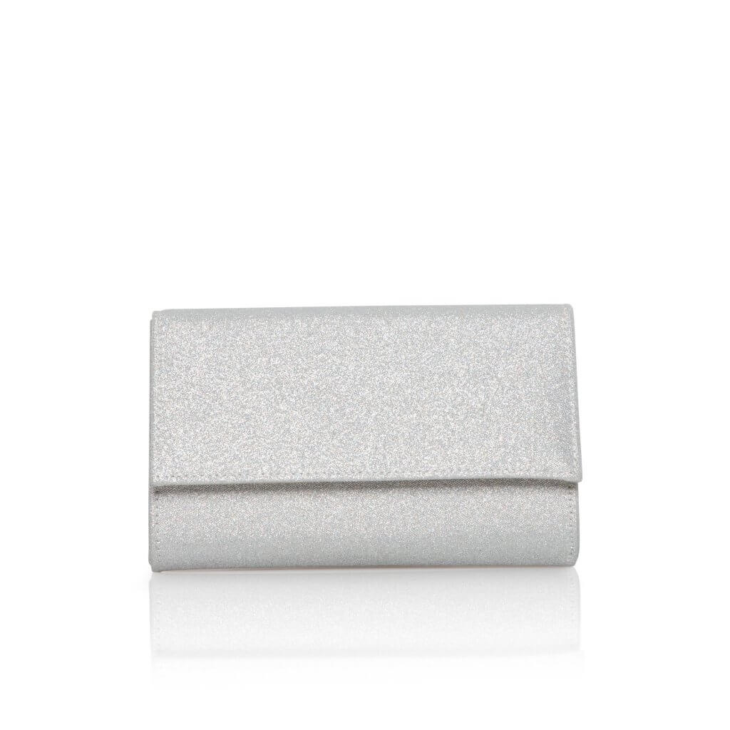 Perfect Bridal Lola Bridal Bag - Silver Shimmer 1