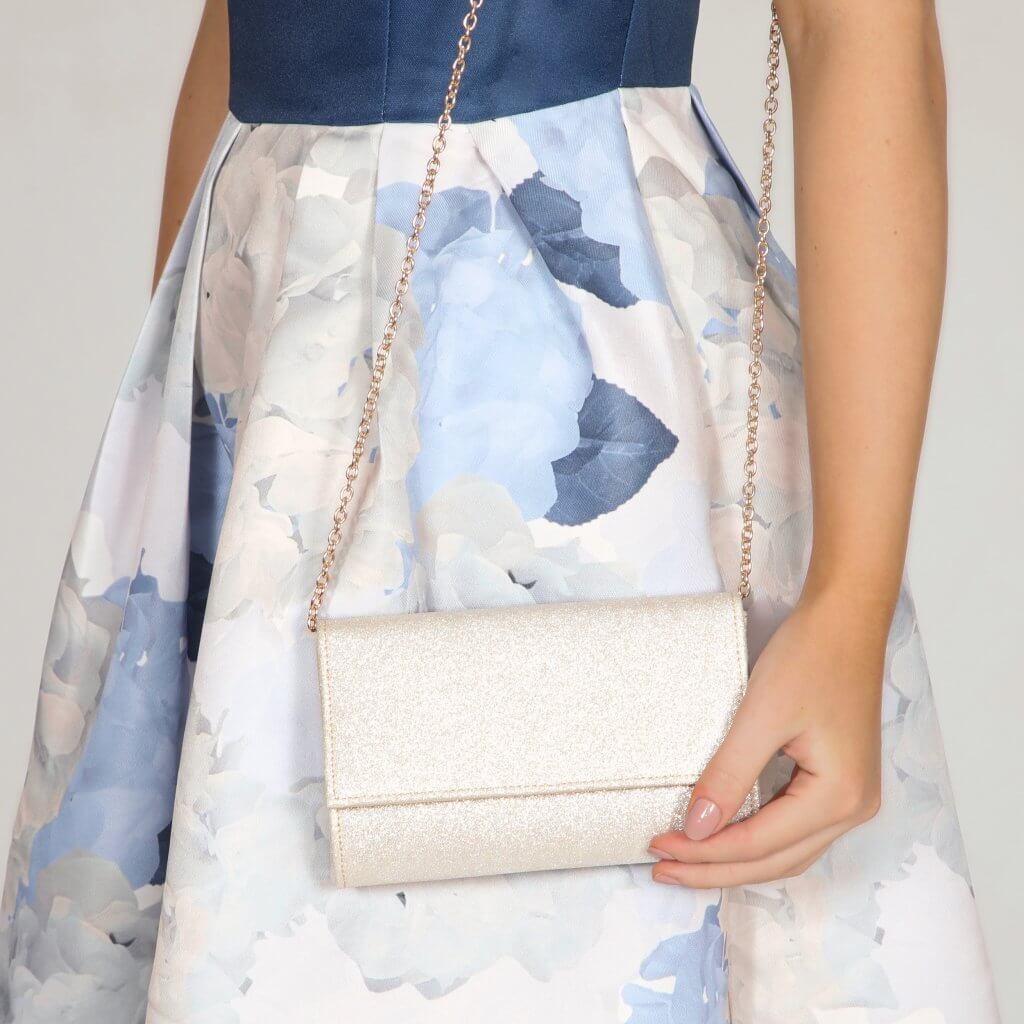 Perfect Bridal Lola Bridal Bag - Gold  Shimmer 2