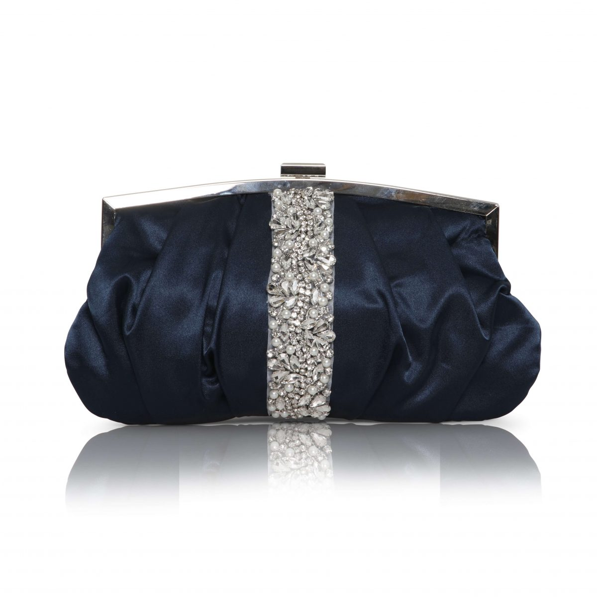Perfect Bridal Saffron Bag - Navy 1