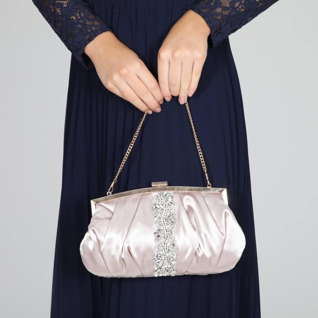 Perfect Bridal Saffron Bag - Taupe 2