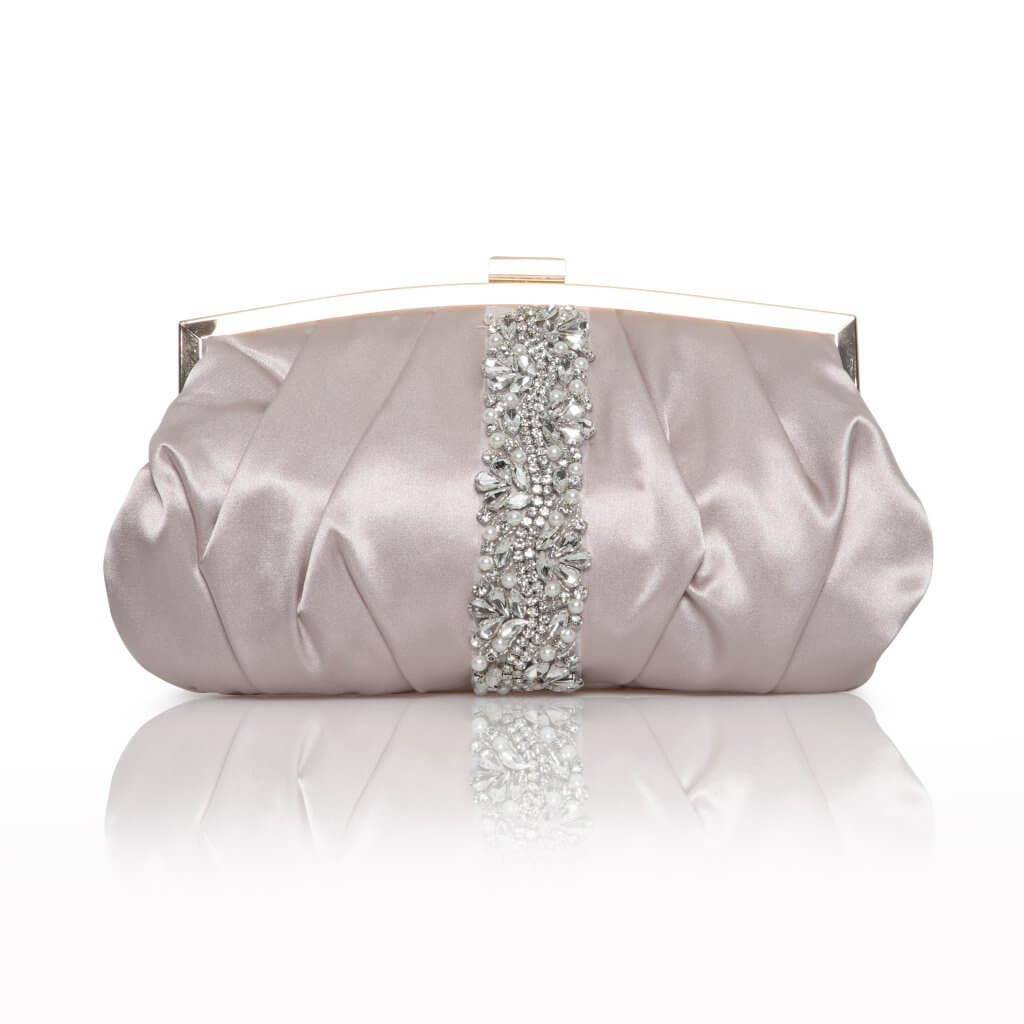 Perfect Bridal Saffron Bag - Taupe 1