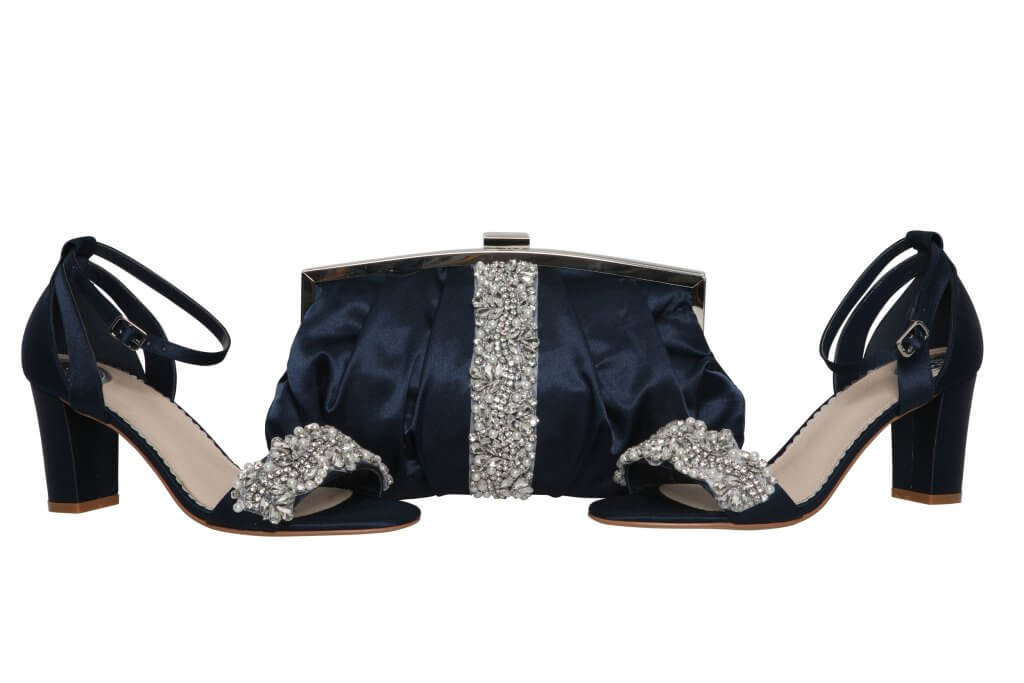 Perfect Bridal Saffron Bag - Navy 3