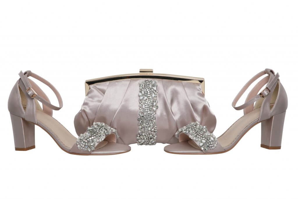 Perfect Bridal Saffron Bag - Taupe 3