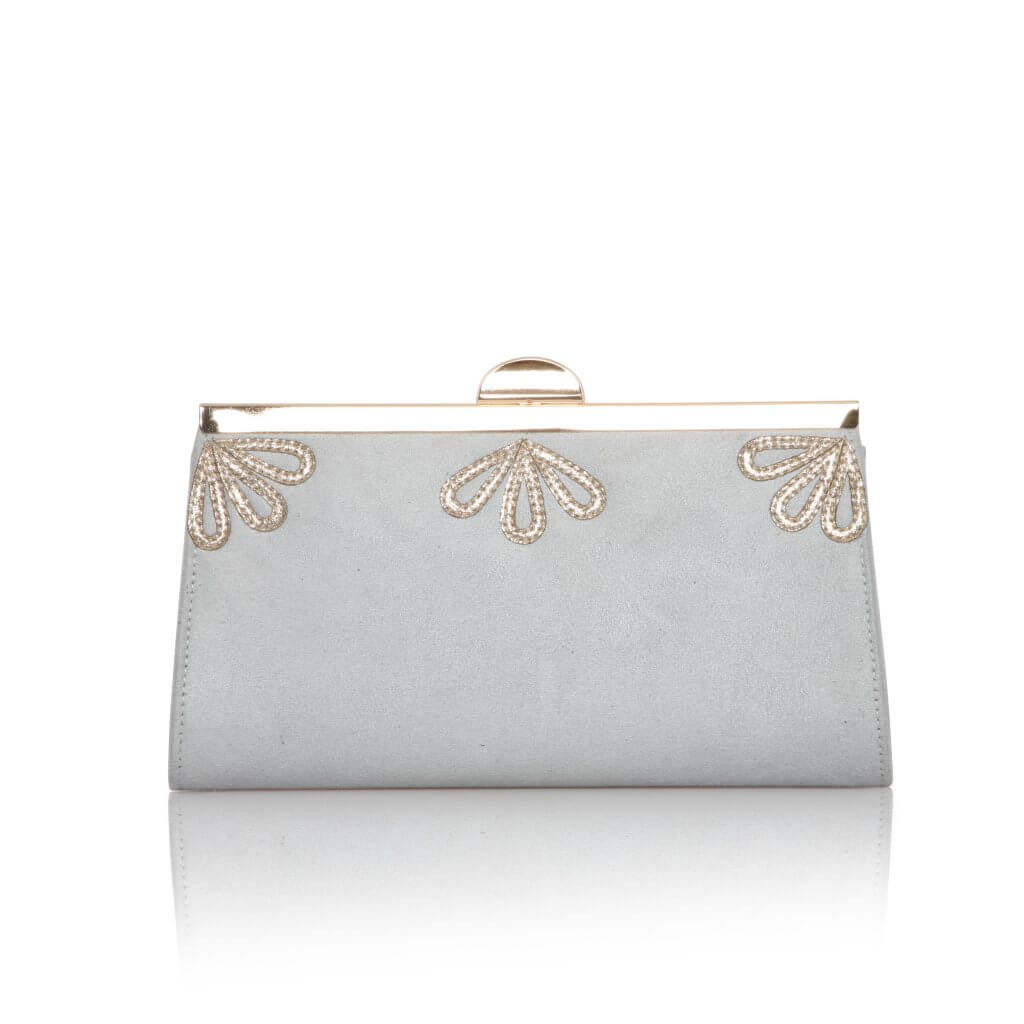 Perfect Bridal Sage Bag - Pearl Grey 1