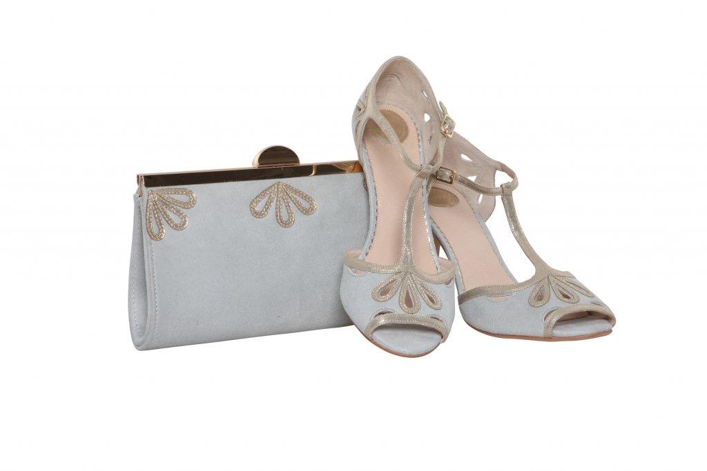 Perfect Bridal Sage Bag - Pearl Grey 3