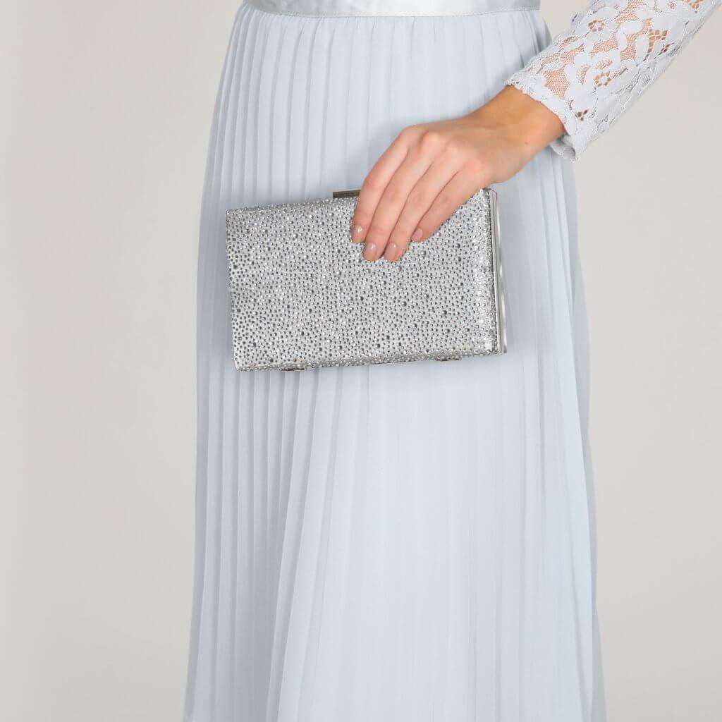 Perfect Bridal Sorrel Bridal Bag - Silver 4