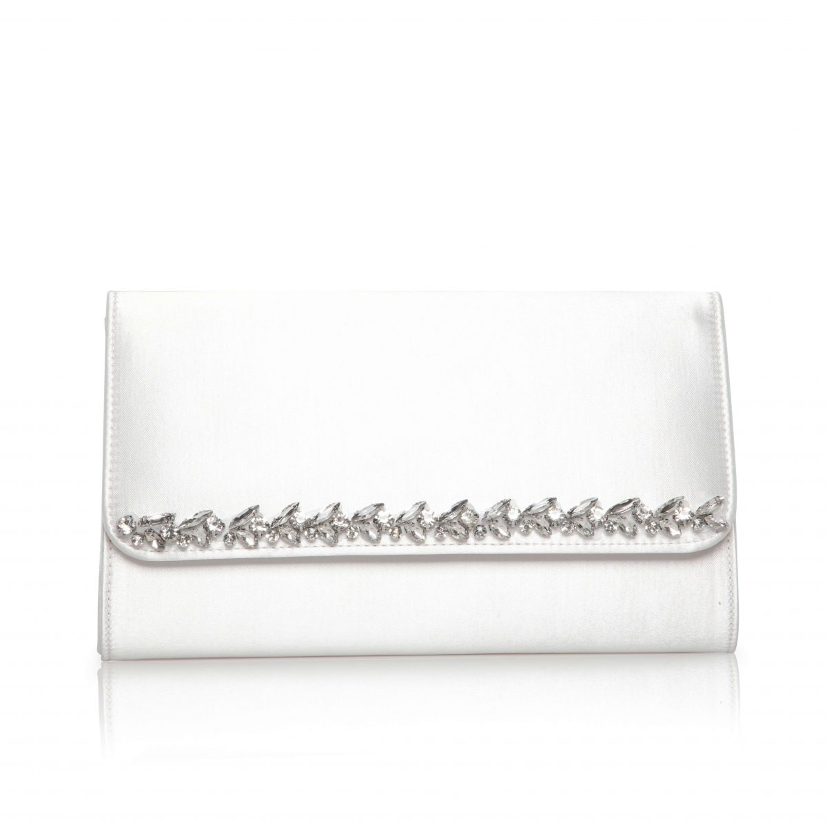 Perfect Bridal Yvette Bridal Bag - Dyeable Satin 1