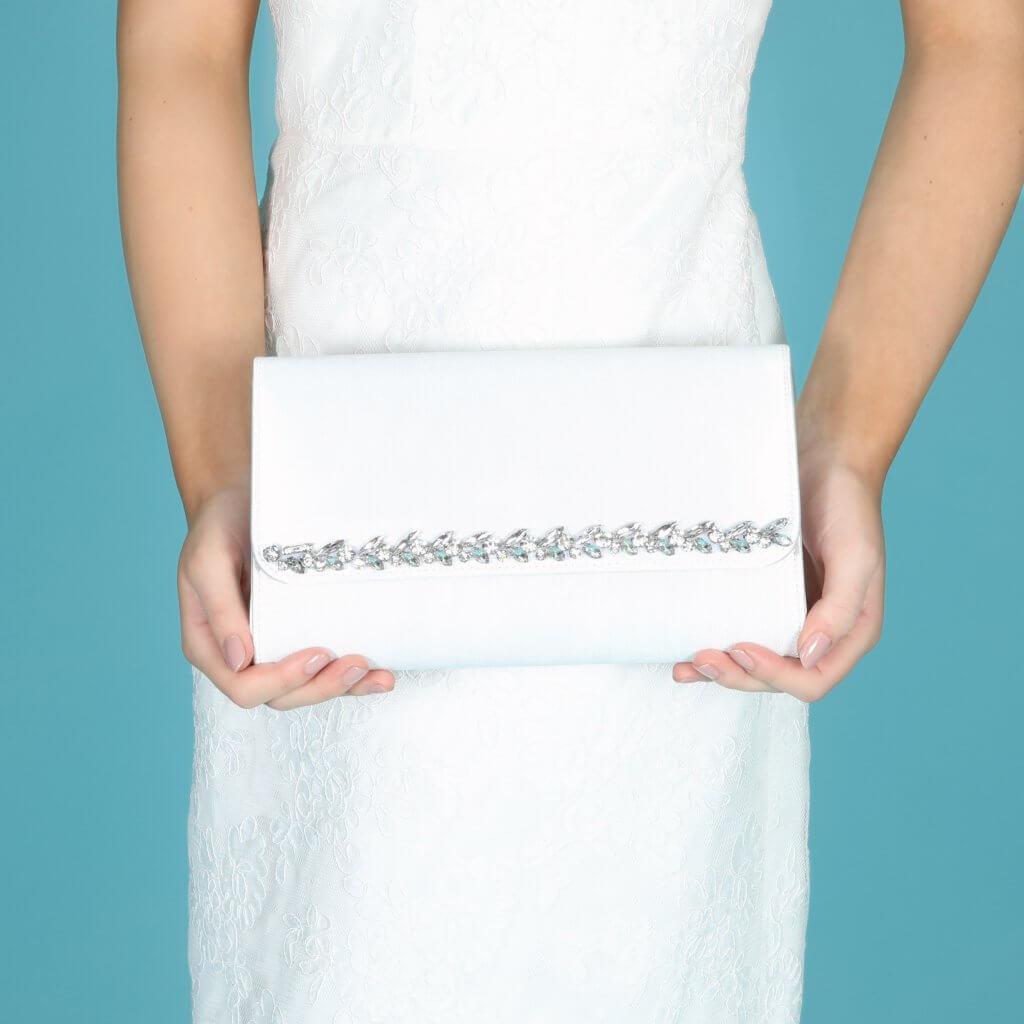 Perfect Bridal Yvette Bridal Bag - Dyeable Satin 5