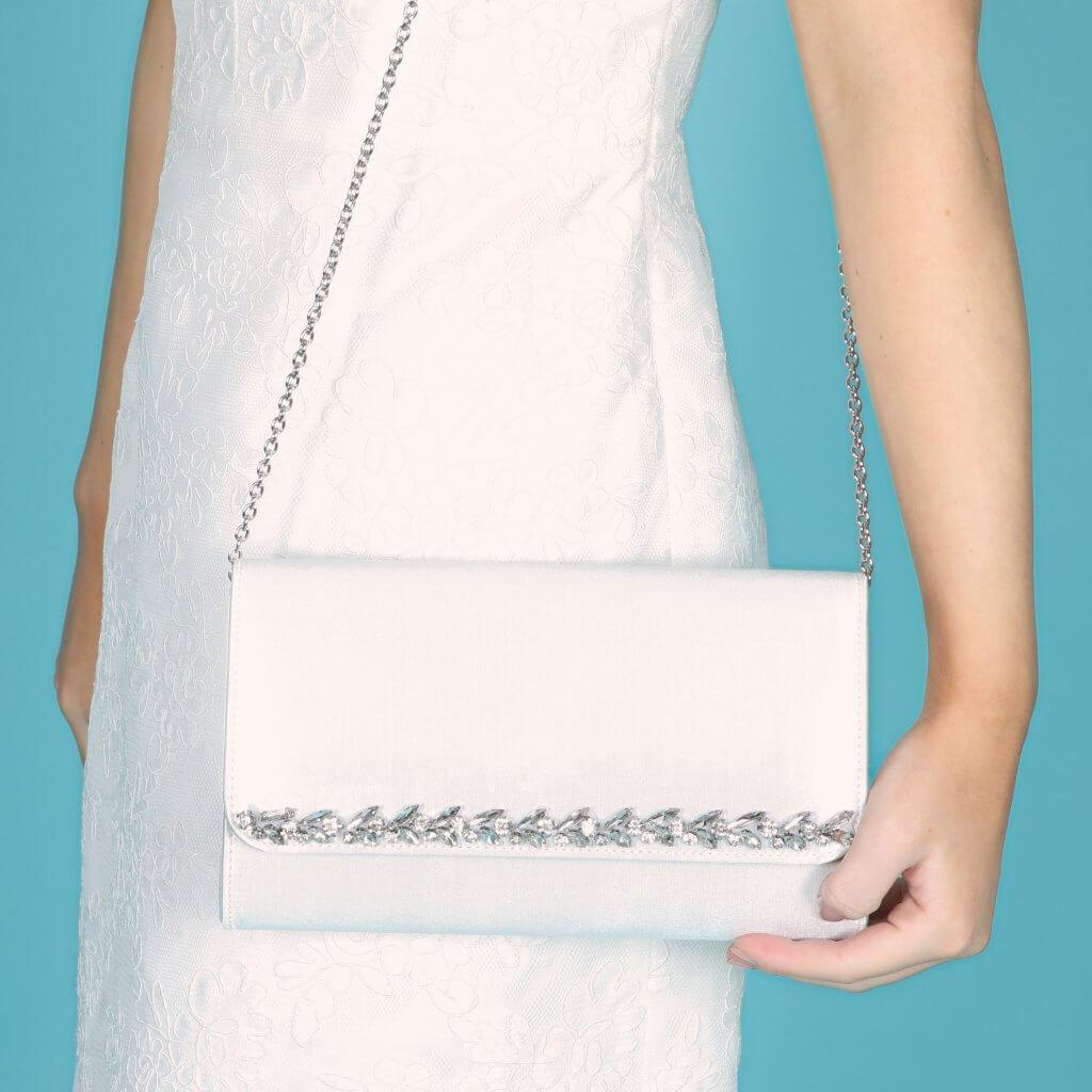 Perfect Bridal Yvette Bridal Bag - Dyeable Satin 4