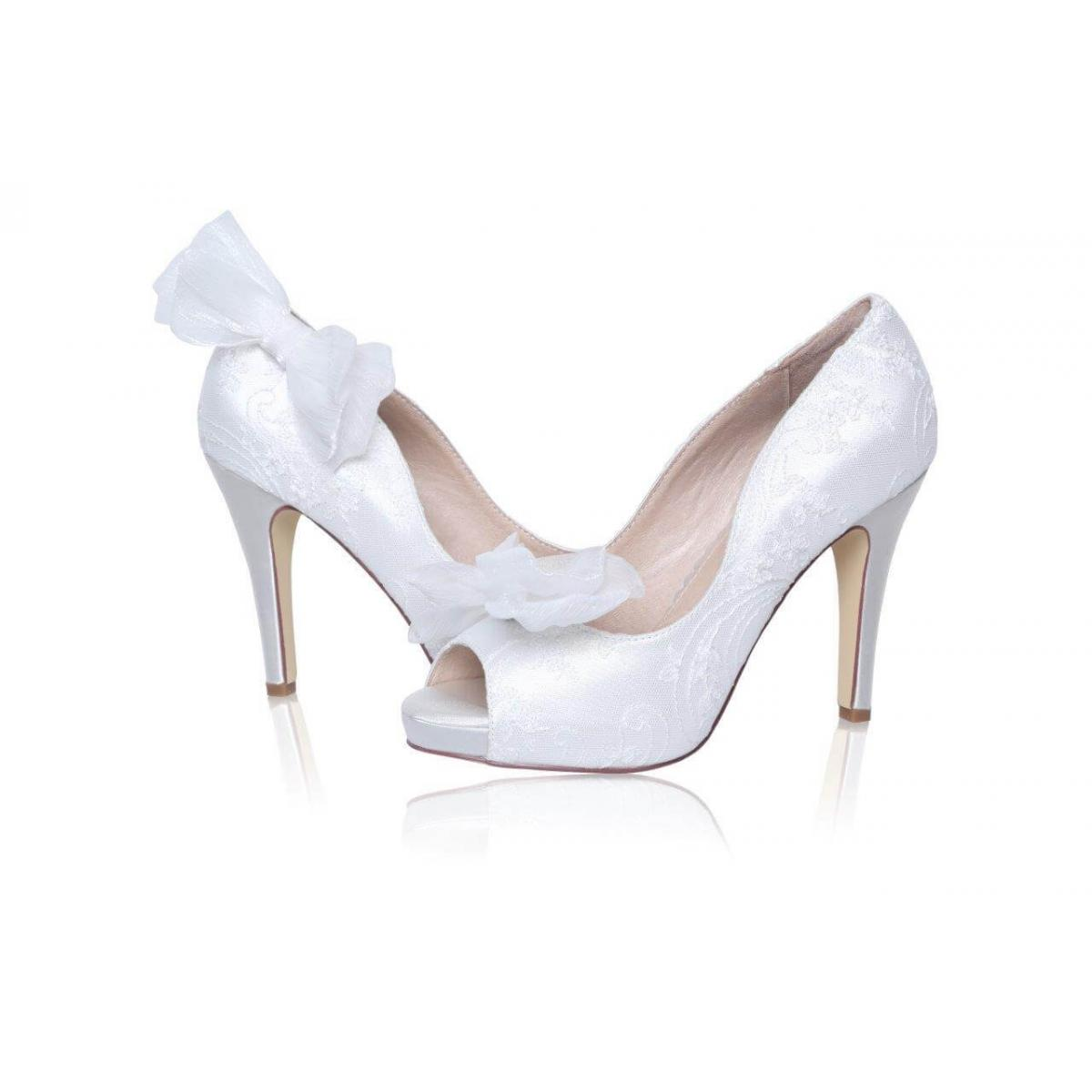 Perfect Bridal Daphne Shoe Trim - Ivory 1