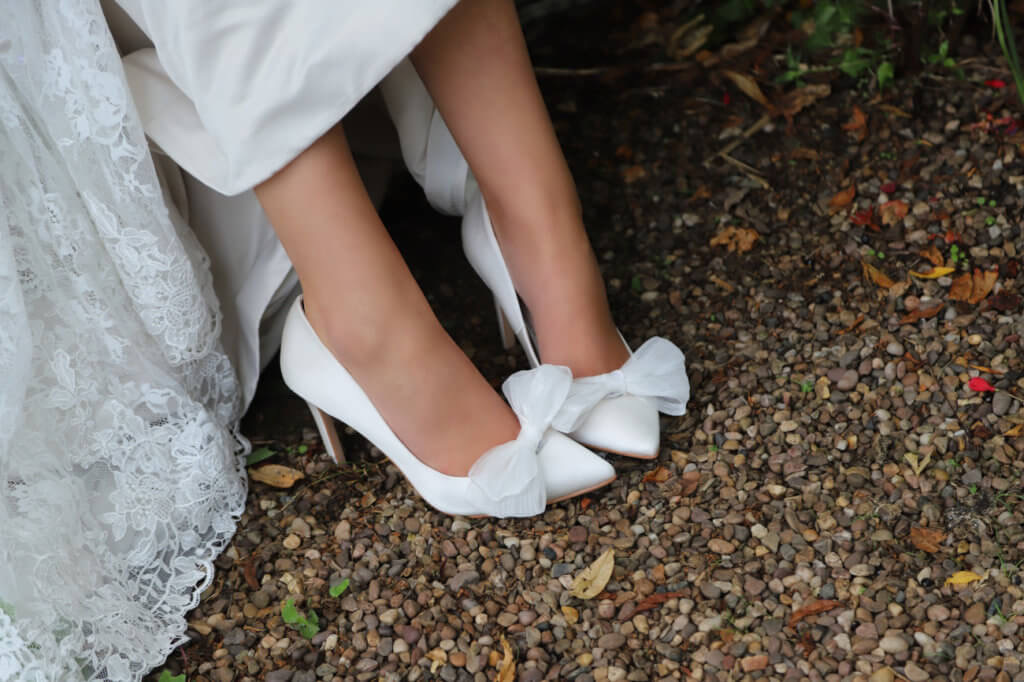 Perfect Bridal Daphne Shoe Trim - Ivory 2
