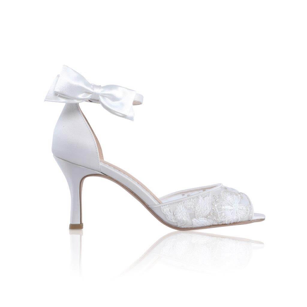 Perfect Bridal Rowan Shoe Trim - Satin 1