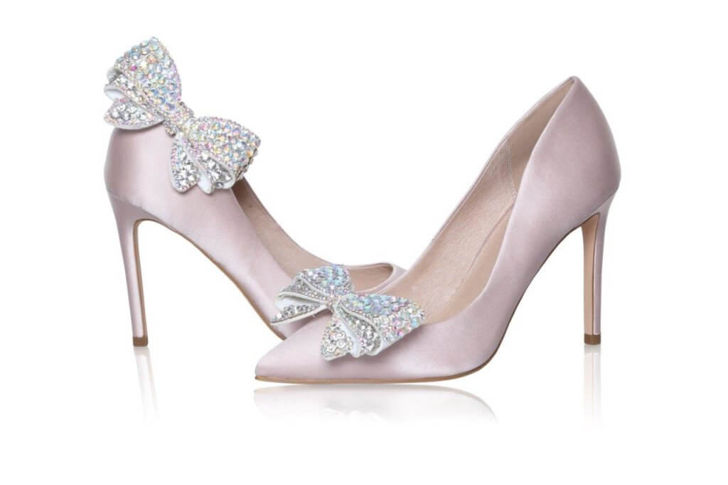 Perfect Bridal Zinnia Shoe Trim  - AB Sparkle 1