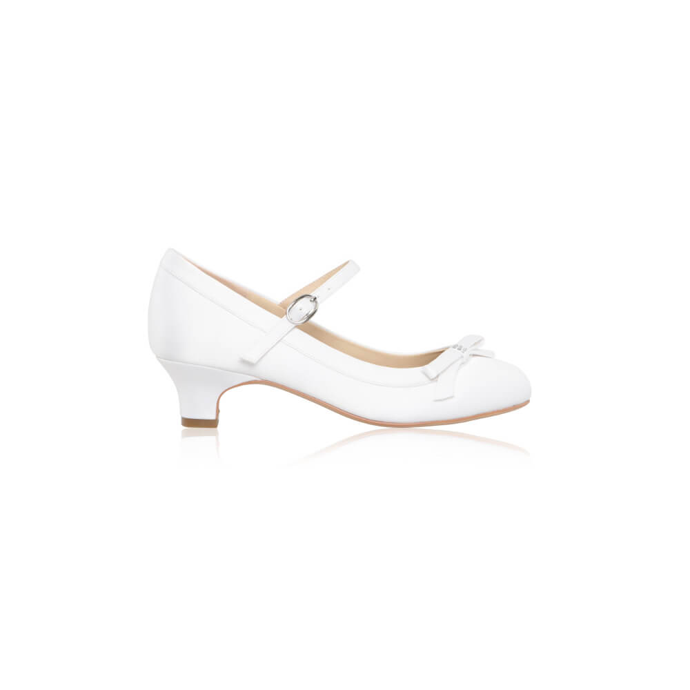 Perfect Bridal Beth Communion Shoe 1