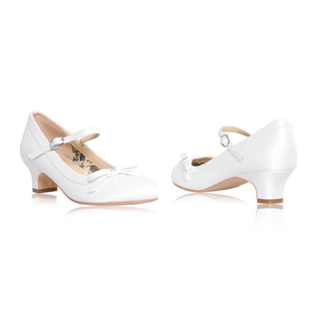 Perfect Bridal Beth Communion Shoe 2