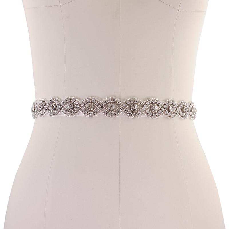 Athena Collection - Vintage Inspired Bridal Belt - Ivory 2