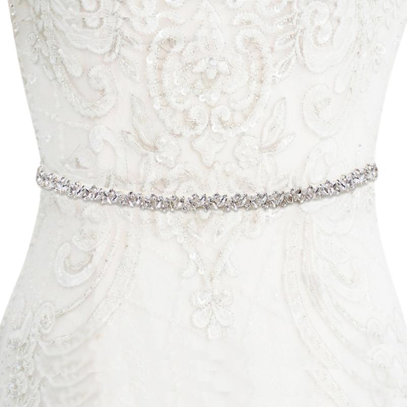 Athena Collection - Crystal Cluster Belt - Ivory 2